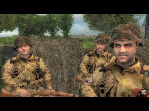 WW2 - Liberation of Normandy Towns - Battle of Normandy - Brothers in Arms Road to Hill 30