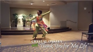 Crystal Oakley with Smokie Norful