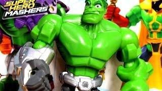 Hulk z Funkcjami / Smash Fist Hulk Figure - Avengers - Super Hero Mashers - Marvel - Kraina Zabawek