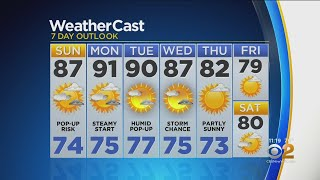 New York Weather: CBS2 8/17 Nightly Forecast at 11PM