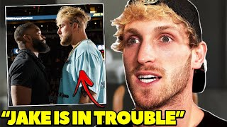Logan Paul Reacts To Jake Paul VS Tyron Woodley Fight