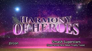 "zircon - Super Smash Bros Melee ""Smash Superstars"" (Trophy Tussle) [House / Jazz / Chill]"