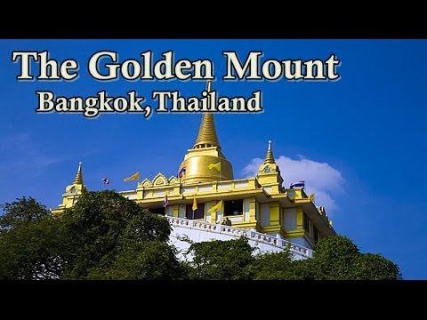 The Golden Mount (Wat Saket) - Bangkok Thailand Trips