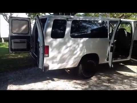Diy Converted Econoline Camper Van That Sleeps 4 Poor Mans Sportsmobile