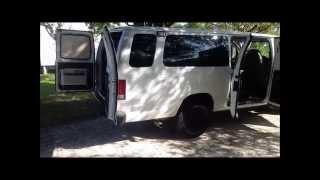 diy converted econoline camper van that sleeps 4 poor mans sportsmobile