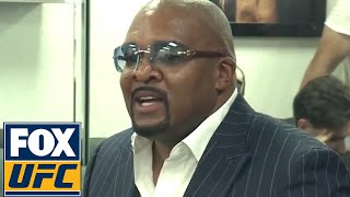 Leonard Ellerbe at Floyd Mayweather's media day | Mayweather vs. McGregor | UFC ON FOX