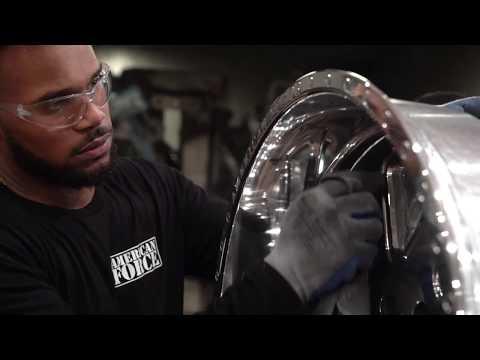 2. Polishing // American Force Wheels Factory
