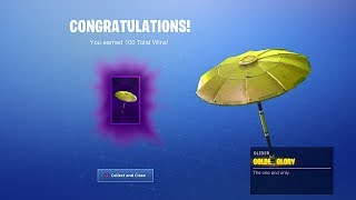 "The SECRET ""GOLDEN UMBRELLA"" in Fortnite! How to Unlock GOLDEN UMBRELLA! New GOLDEN UMBRELLA Leaked!"
