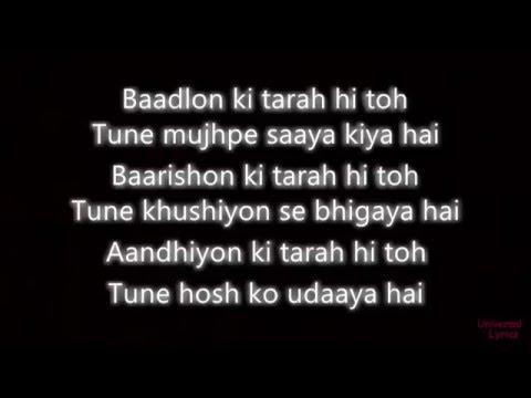 Sanam Re - Arjit Singh Lyrics