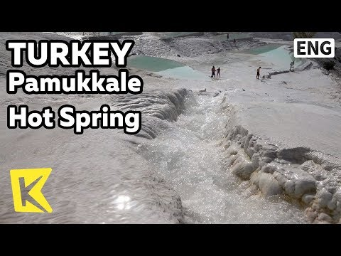 【K】Turkey Travel-Pamukkale[터키 여행-파묵칼레]목화의 성 천연 온천/UNESCO/Hot Spring/Natural/Limestone/Hierapolis