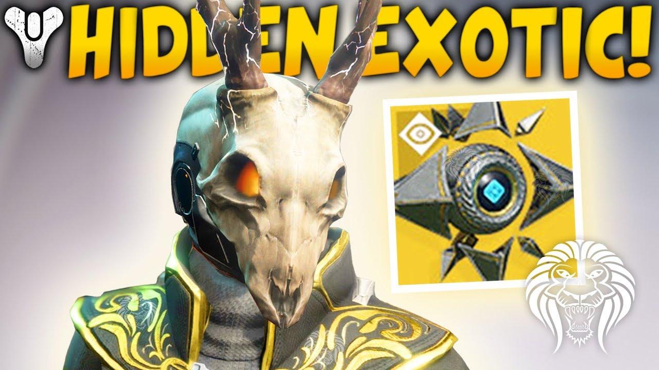 Destiny 2 Hidden Exotic New Perks Sagiras Shell All Dlc Exotics