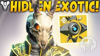 Destiny 2: HIDDEN EXOTIC & NEW PERKS! Sagiras Shell, All DLC Exotics & Mercury Puzzles