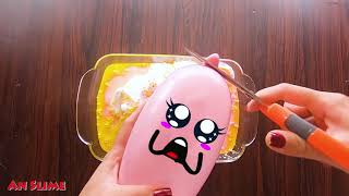 Making Slime With Funny Balloon Cute Doodles #31 | RELAXING SATISFYING SLIME | AN SLIME