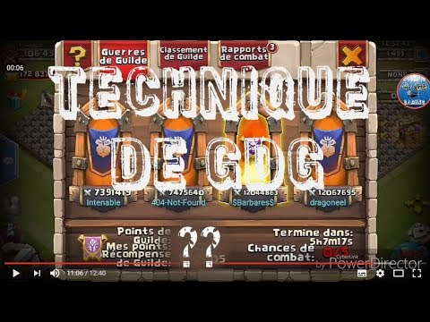 Technique De Gdg Castle Clash
