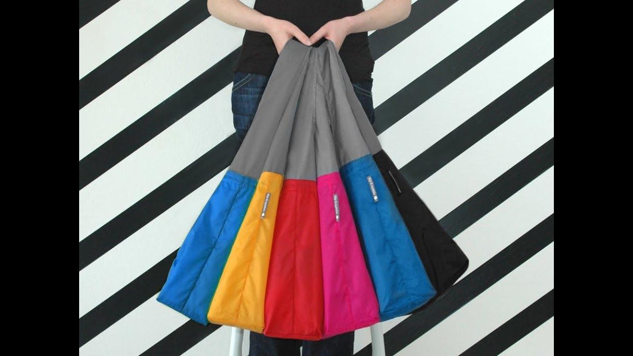 24 7 bags foldable reusable bags youtube