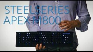 SteelSeries APEX M800 - szpanerska klawiatura z mechanicznymi przełącznikami