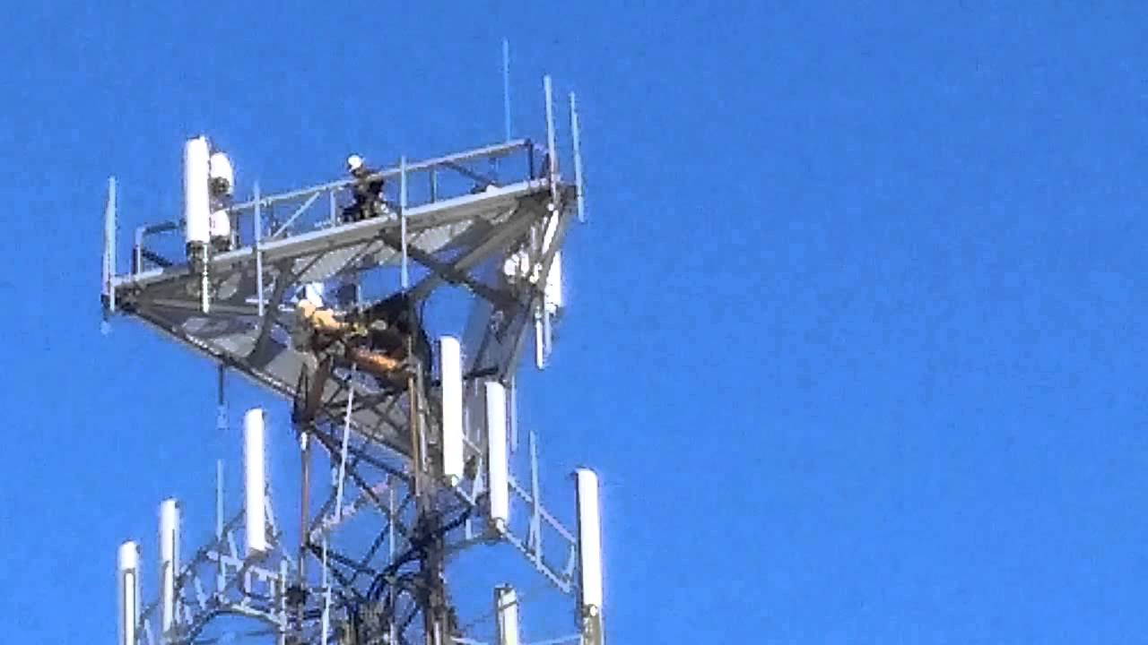 Cell Tower Lte Upgrade Youtube