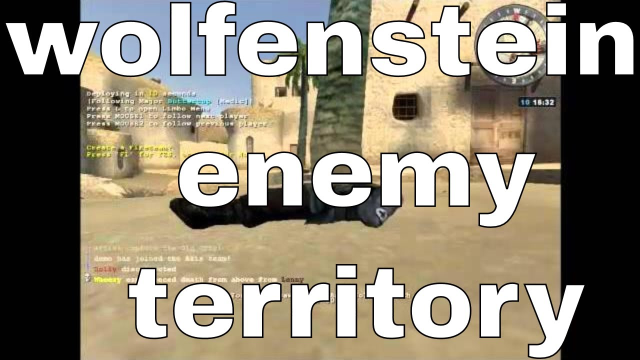 wolfenstein : enemy territory - online multiplayer working - portable free  PC game to download