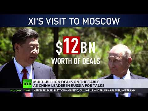 Xi Jinping in Russia: Multi-billion deals on the table as China leader in Moscow for talks