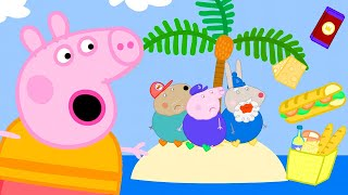 Peppa Pig Official Channel   Grampy Rabbit is Running Out of Food on an Island
