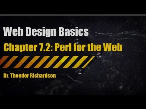 Web Design Basics: Perl for the Web