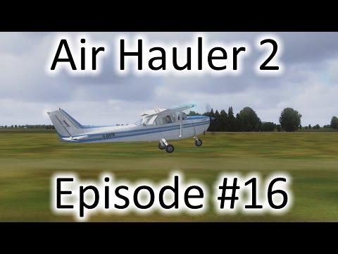 FSX | Air Hauler 2 Ep. #16 - Missed the Runway Again | C-172