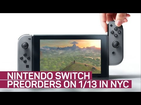 'Limited' Nintendo Switch preorders available in NYC