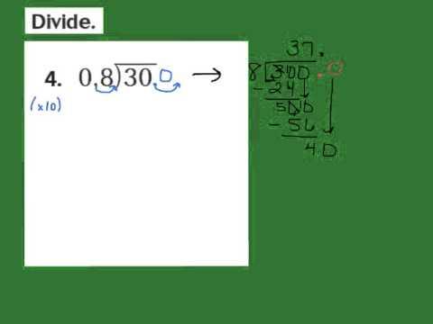 Lesson 5.7 Write Zeros in the Dividend