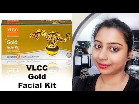 VLCC Gold Facial at Home step by step || Gold Facial at Home