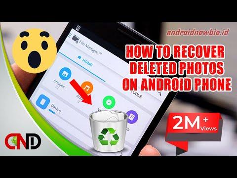 Cara mengembalikan Foto Yang Terhapus Di Android Tanpa Root Dan Tanpa PC.