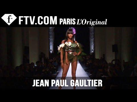 Jean Paul Gaultier Show Spring/Summer 2015 | Paris Couture Fashion Week | FashionTV