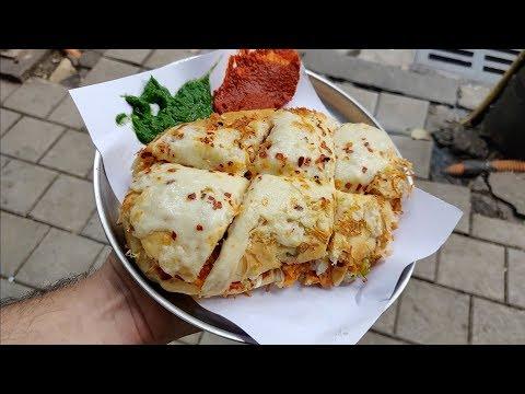 Big Cheese Panini Sandwich for Rs 110 | Famous Raju Sandwich | Indian Street Food