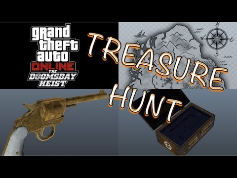 GTA 5 DOOMSDAY HEIST DLC: Treasure Hunt for Red Dead Gold Revolver