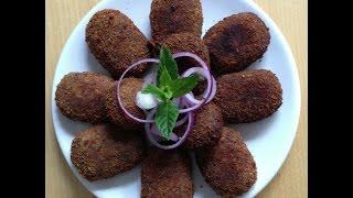Kerala Style Beef /meat Cutlet