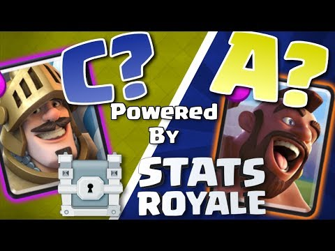 Clash Royale Card Tier List for the LEGENDARY Arena Dec 2017 | BEST and WORST cards AFTER the UPDATE