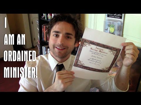 I Am An Ordained Minister