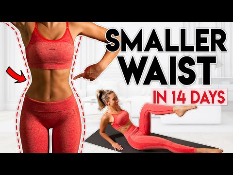 SMALLER WAIST in 14 Days (lose belly fat) | 10 min Home Workout