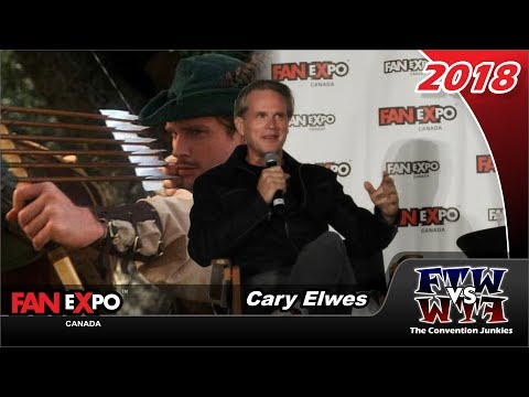 Cary Elwes Princess Bride, Saw, Men in Tights  Expo Canada 2018
