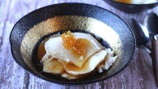 Cooking | Tào phớ, Đậu hủ nước đường Silken Tofu in ginger syrup
