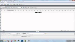 DreamWeaver ile Yazı Konumlandırma(Sağ-Sol-Orta) ve Kalın & Italic Yazma