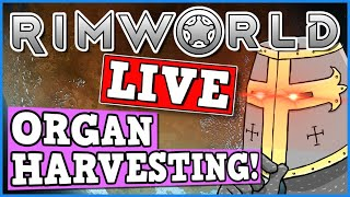 Rimworld IS A PERFECTLY BALANCED GAME WITH NO EXPLOITS - Organ Harvesting Live (BIRTHDAY STREAM)