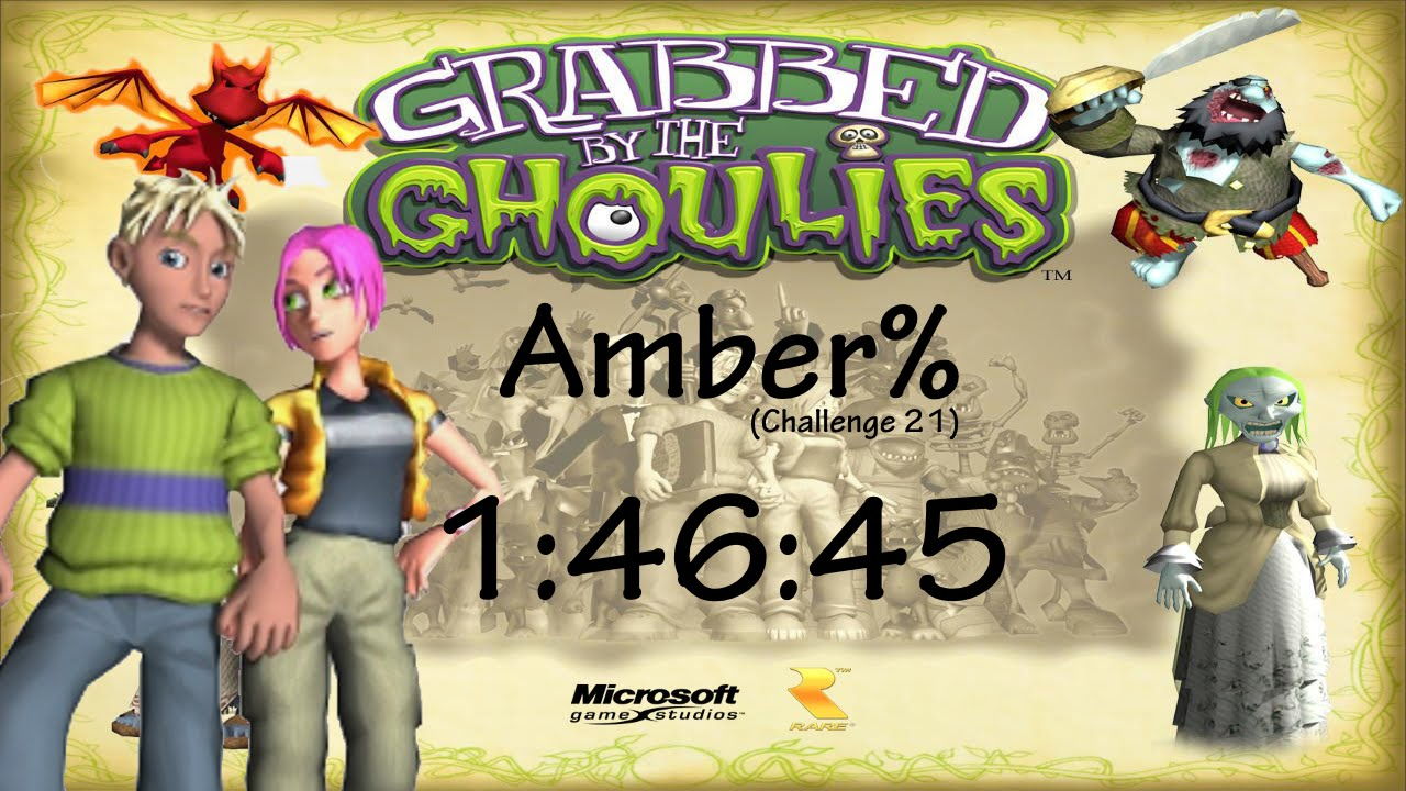 grabbed by the ghoulies cheats