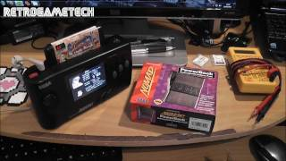 Quick Project Pt 1 - SEGA Nomad Battery Pack Mod - Retrofitting With Modern Rechargeable Batteries