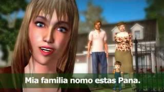 "Esperanto course ""Ana Pana"". First lesson."