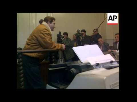 Serbia - Former Yugoslavia's First War Crime Trial