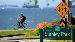 Stanley Park Bike Tour, Vancouver, Canada