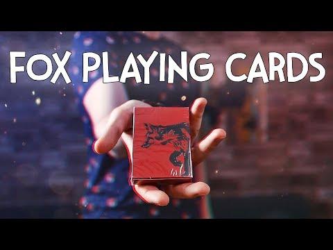 FOX 🦊 PLAYING CARDS By EKATERINA MAGIC | ОБЗОР КОЛОДЫ КАРТ