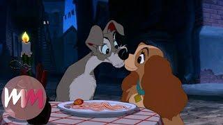 Top 10 Most Romantic Disney Kisses