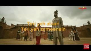 AAZAADIYAN song with lyrics Begum Jaan