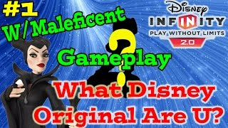 Disney Infinity 2.0 Toy Box What Disney Original Are You? # 1 (maleficent Gameplay & Skill Tree)